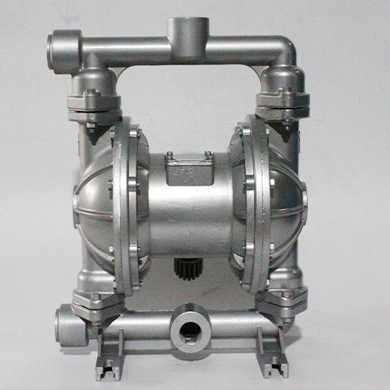 Pneumatic Diaphragm Pump QBk15  Corrosion-Resistant Sewage Chemical high temperture Self-Priming Sewagepump Factory Direct Sales недорого