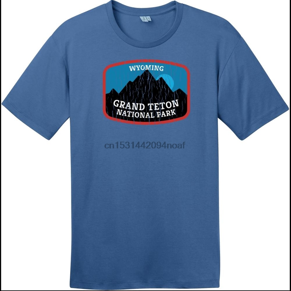 Camiseta de Grand Teton, Parque Nacional, Wyoming