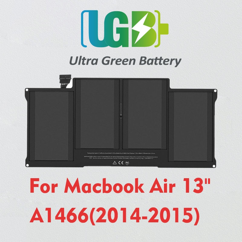 UGB جديد الأصلي A1496 بطارية لابل ماك بوك اير 13