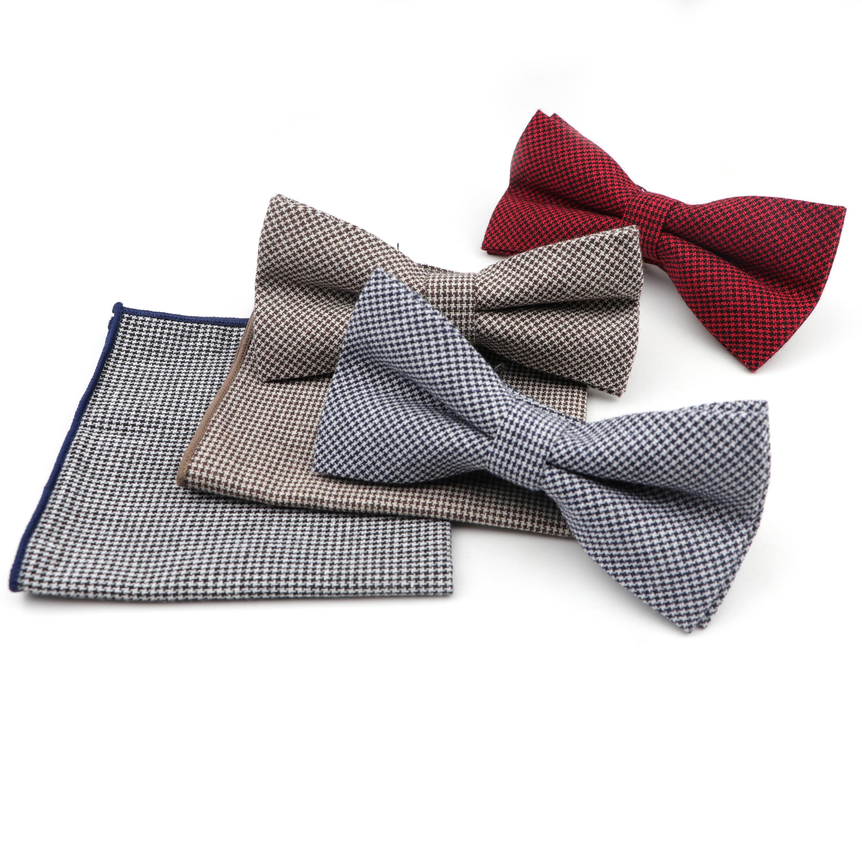 Nuevo conjunto cuadrado formal de bolsillo a la moda para hombre, Cuadrado de bolsillo de algodón Artificial grueso, Cuadrado de bolsillo con pajarita a rayas