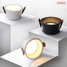 Foco LED empotrable de 60 grados, lámpara de techo regulable con ángulo de haz, 20W, 18W, 15W, 12W, 9W, 7W, 2021