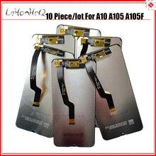 Pantalla de lote de 10 piezas A10 para Samsung Galaxy A10 pantalla LCD A105 A105/DS A105F MONTAJE DE digitalizador con pantalla táctil para Samsung M10