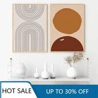 Toile dart murale abstraite de Style boheme  tendance  minimaliste  affiche imprimee  decor mural  image pour chambre a coucher  decoration interieure de la maison