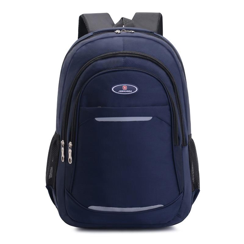 Многофункциональный рюкзак для старшей школы, удобная Вместительная дорожная сумка для учеников младшей и старшей школы, школьный ранец в ...