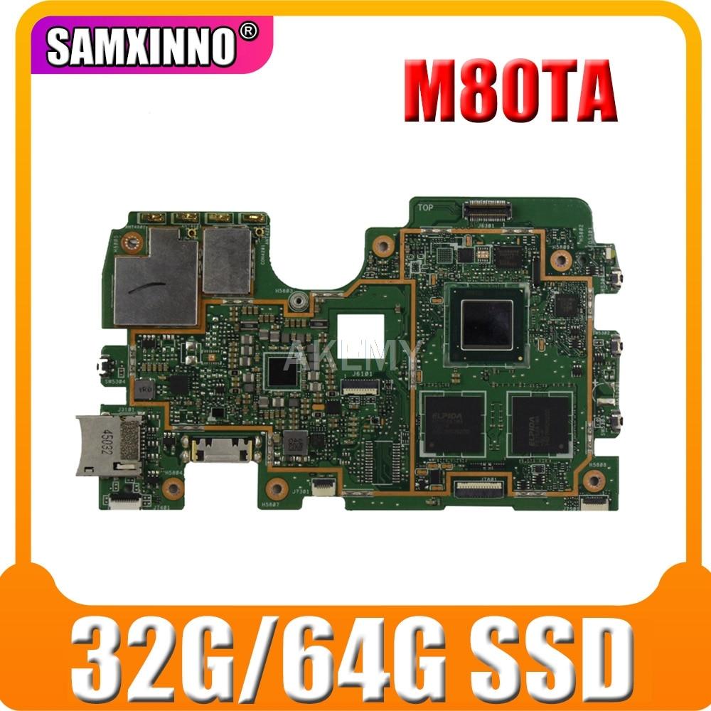 Original para For Asus vivo TAB Note 8 M80TA placa madre placa...