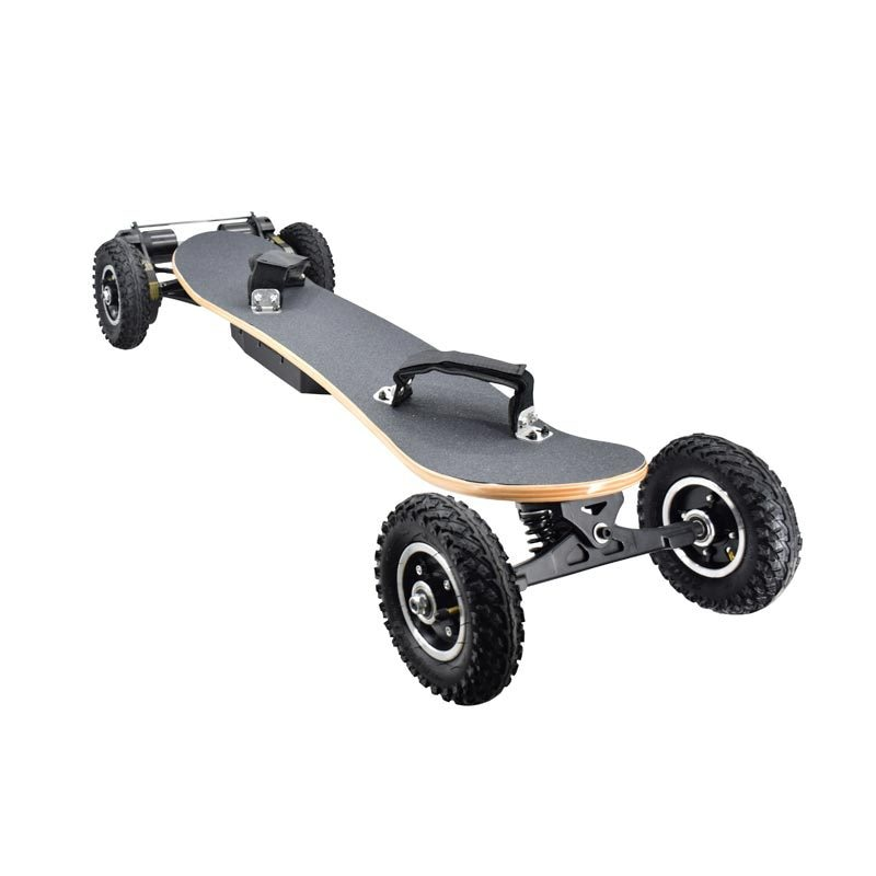 1650W 4 wheel scooter  dual-drive shock-absorbing electric longboard Off-road electric skateboard Remote control