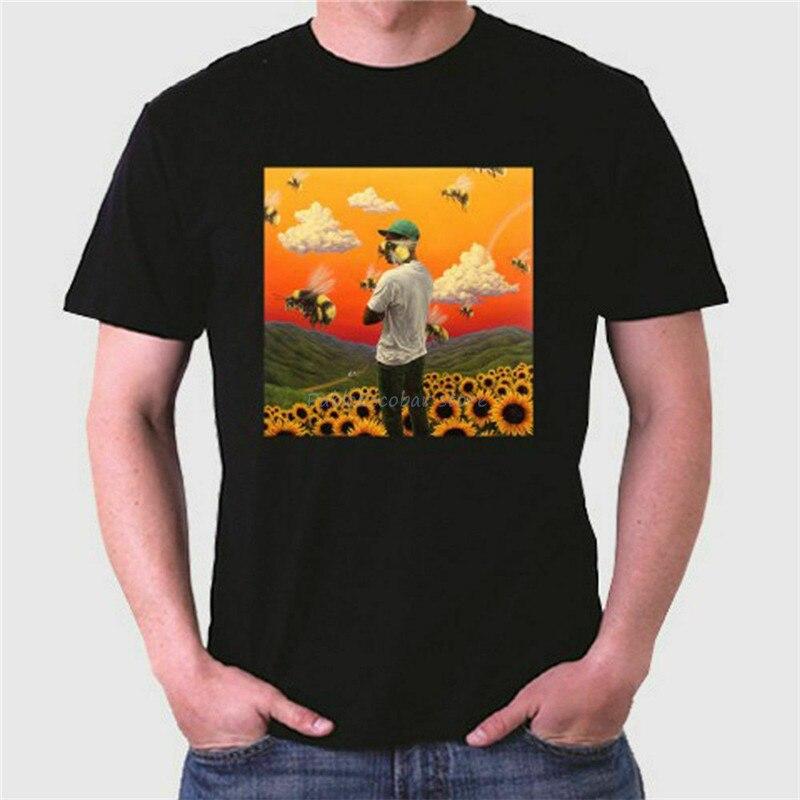 Tyler The Creator chico flor hombres camiseta tamaño S- 5XLFree envío nuevo Unisex camiseta