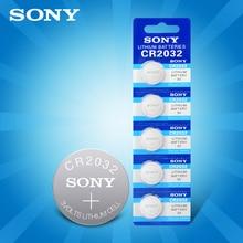 3V 5 pièces/lot SONY CR2032 Lithium bouton piles DL2032 ECR2032 BR2032 pile bouton CR 2032 pour ordinateur carte mère pda