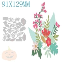 christmas flower metal cutting dies for diy making scrapbooking greeting card paper no stamps new cutting dies arrival 2021