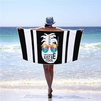 custom photo print beach towels microfiber summer swim bath towel drop shipping for adults