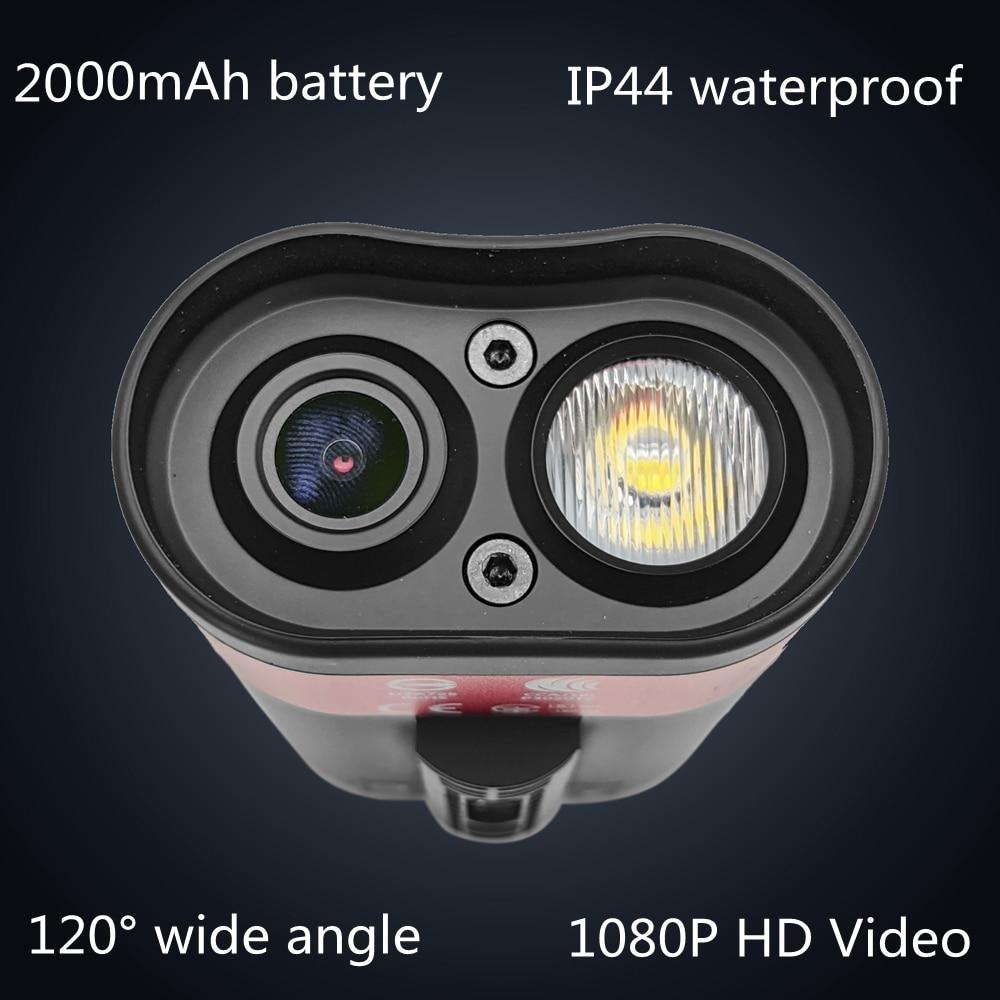Велосипедный видеорегистратор, 1080P, 30 кадров/с, USB-зарядка