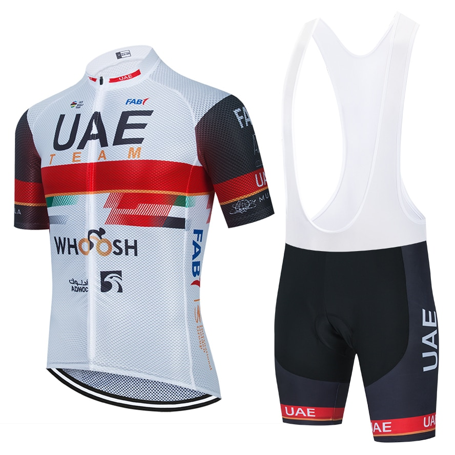 2021 UAE CYCLING TEAM JERSEY 20D Bike Shorts WEAR Suit Ropa Ciclismo MEN Summer Quick Dry Pro BICYCLING Maillot Pants Clothing