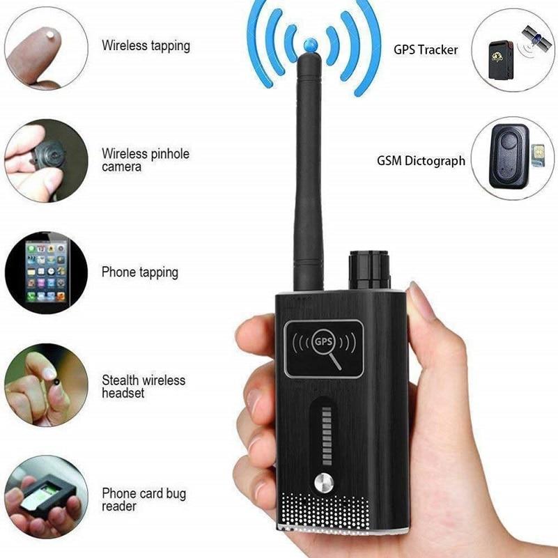 T6000 bug wiretap cámara espía oculta dededektor mini cámara espía cámara oculta 2G 3G 4G GSM tarjeta GPS tracker RF detector de señal