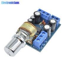 TDA2822M Module amplificateur Audio 2*1 W carte amplificateur de puissance Audio stéréo double canal avec potentiomètre commutateur DC 1.8-12 V