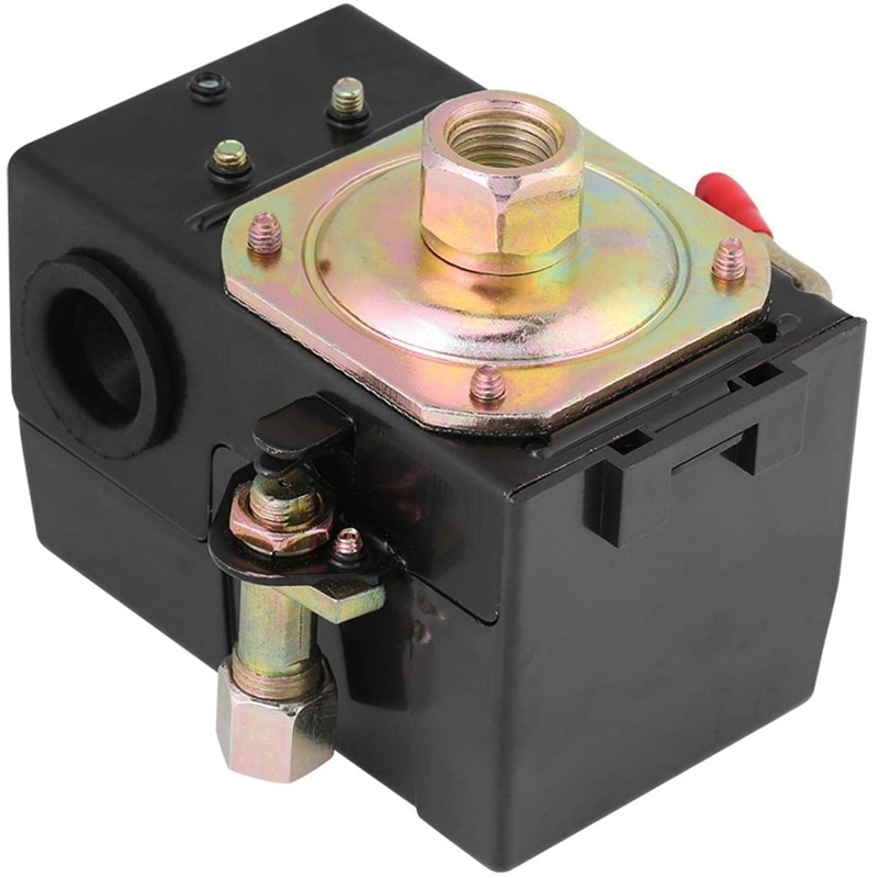 135-175Psi واحدة ميناء مفتاح ضغط ل ضاغط الهواء ، 135-175 PSI محول لضغط الهواء مفتاح ضغط ، ضاغط الهواء مفتاح ضغط مكبس مفتاح ضغط