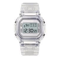 Часы наручные мужские/женские, модные Прозрачные Цифровые, повседневные спортивные, подарок любимому, детские, золотистые