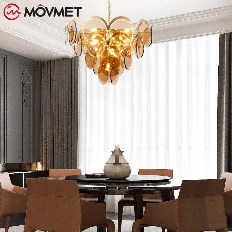 Lujo oro moderno Lustre Luminarias Led colgante de luz de cristal tallado globos lámpara colgante accesorios de iluminación de interior lámpara de suspensión