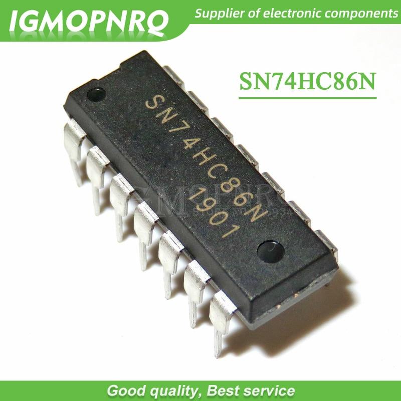 10PCS SN74HC02N SN74HC08N 74HC132 SN74HC32 DIP14 74HC86 74HCT04 74HC14 74HCT00 74HCT02 SN74HC02N DIP-14