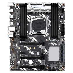 X99-D8 Gaming Motherboard LGA2011 ATX USB3.0 SATA3.0 M.2 NVME SSD 256GB DDR4 RAM Memory Support for I ntel Xeon E5 V3 CPU
