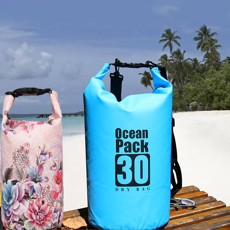 PVC Waterproof Bag 5L 10L 20L Outdoor swimming Bag Diving Compression Storage  Dry Bag For Man Women Kayaking backpack outdoor swimming diving regulator bracket tool mounting pressure protable diving equiment hose hook breathing spare accessories