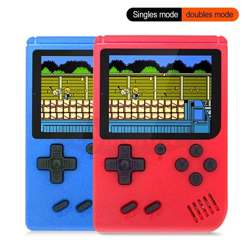 2021 Новинка 400 В 1 портативная Ретро игровая консоль портативные игровые продвинутые Игровые приставки для мальчиков 8-битная Игровая приста...