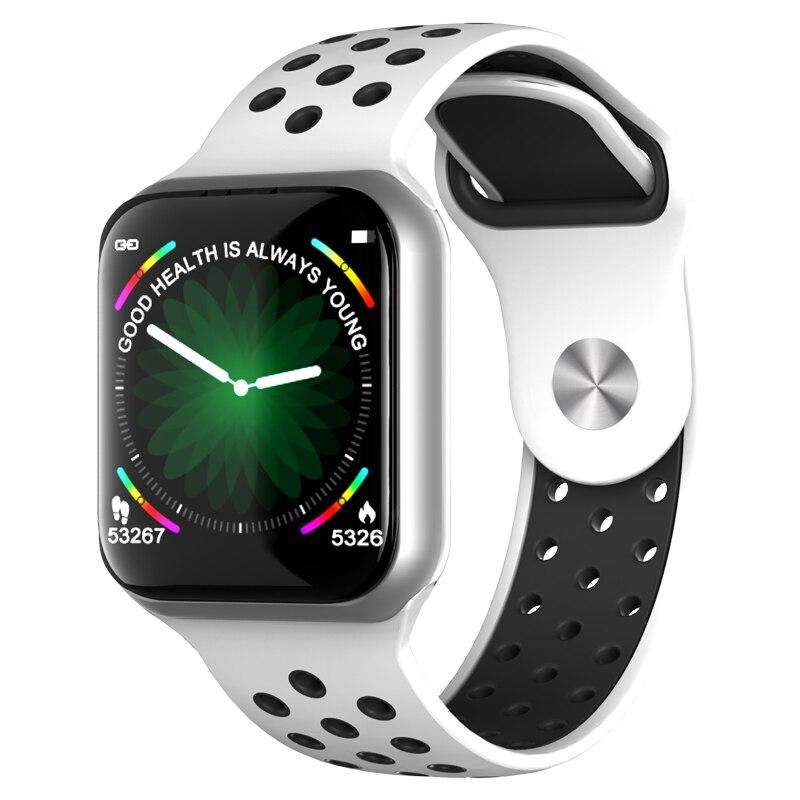 Reloj inteligente F8 2019 con pantalla táctil IP67 a prueba de agua Monitor de ritmo cardíaco Medición de la presión arterial Smartwatch conectar