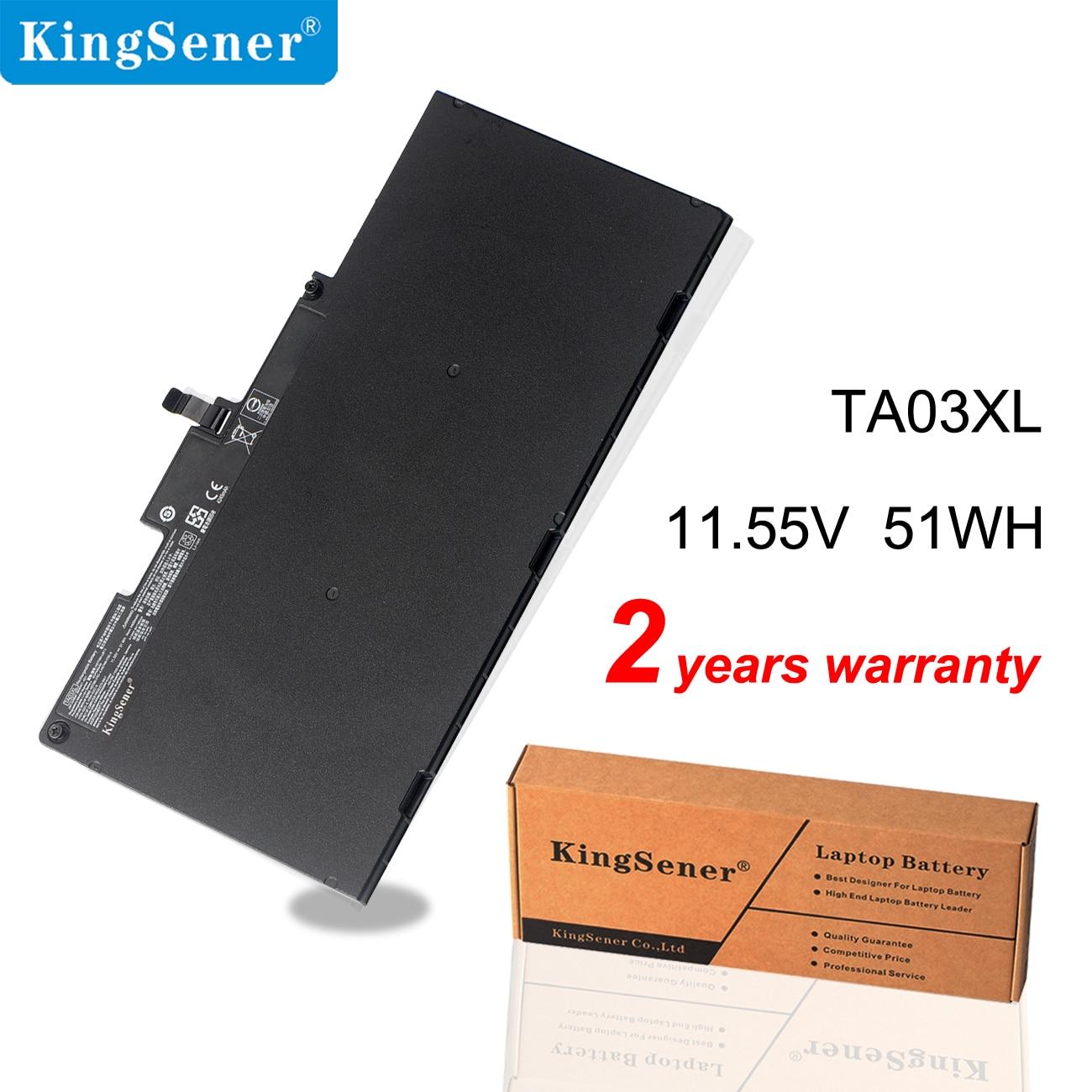 KingSener TA03XL Laptop Battery For HP EliteBook 755 G4 840 G4 848 G4 850 Series HSTNN-IB7L HSTNN-LB7J 854047-421 11.55V 51WH kingsener cm03xl battery for hp elitebook 840 845 850 740 745 750 g1 g2 series hstnn db4q hstnn ib4r lb4r e7u24aa 716724 171