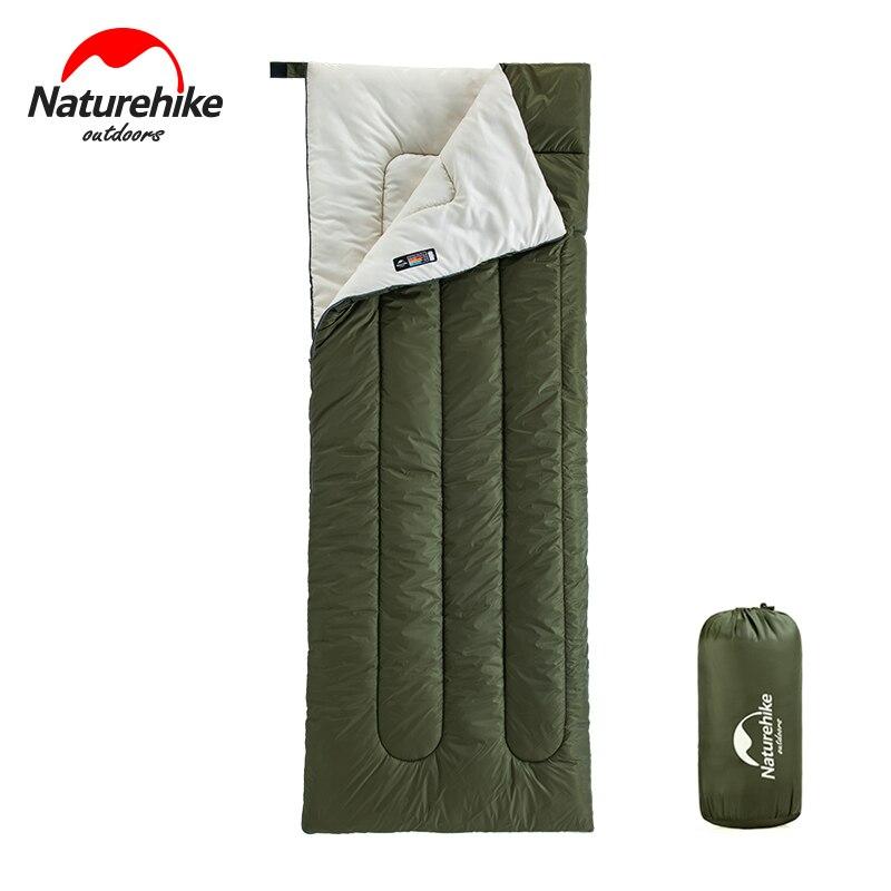 Bolsa de dormir Naturehike H150, ultraliviana, compacta, de algodón, para verano, exteriores, senderismo, viaje, saco de dormir, para acampada