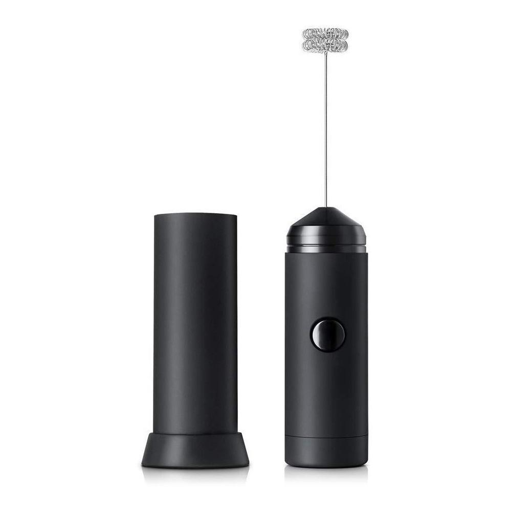 Mini vaporizador de leche eléctrico de mano de doble resorte batidor de espuma de cocina mezclador de leche de mano para café latte capuchino