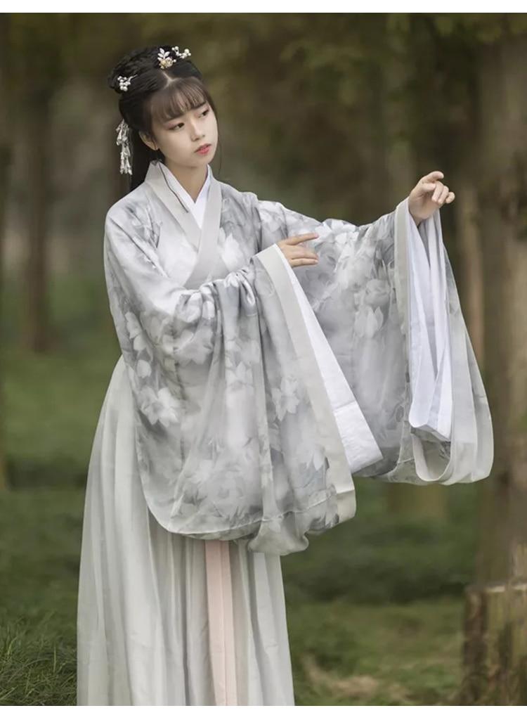 China Oriental female romantic fairy costume dress everyday Chinese clothing waist jacket skirt suit