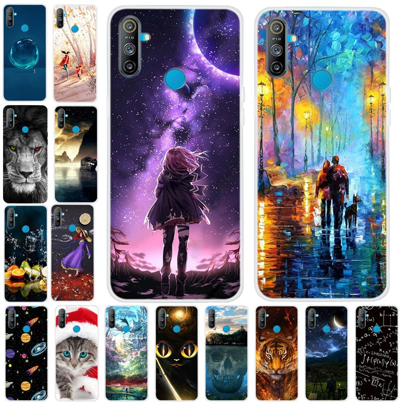 For OPPO Realme C3 Case Cover Bumper On For Oppo Realme C3 TPU Soft Silicone Case Realme C3 C 3 3C B