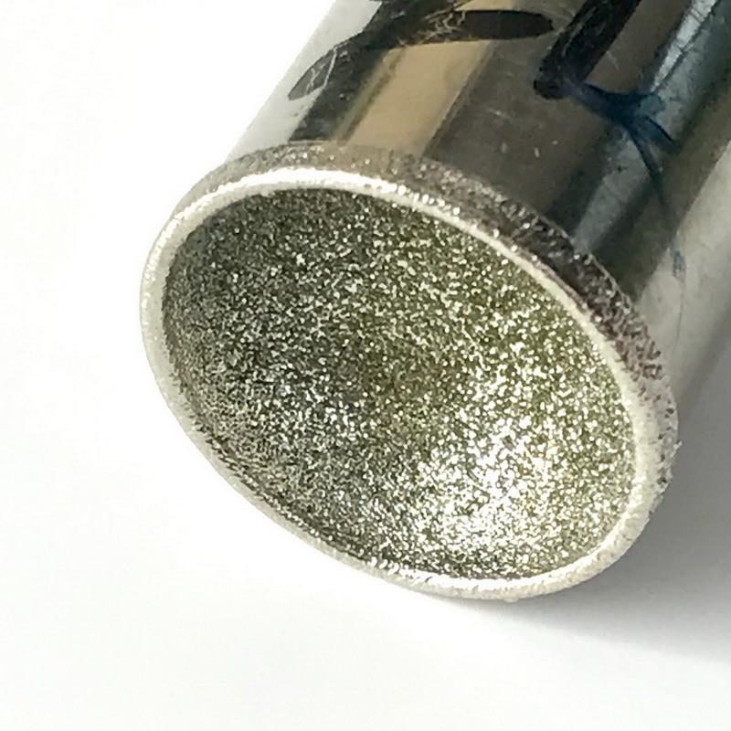 Бесплатная доставка 1 шт 26-50 мм 120 # грубого помола шарики алмазные вогнутые бусинки палочки гнездо Янтарные Бусины цилиндры