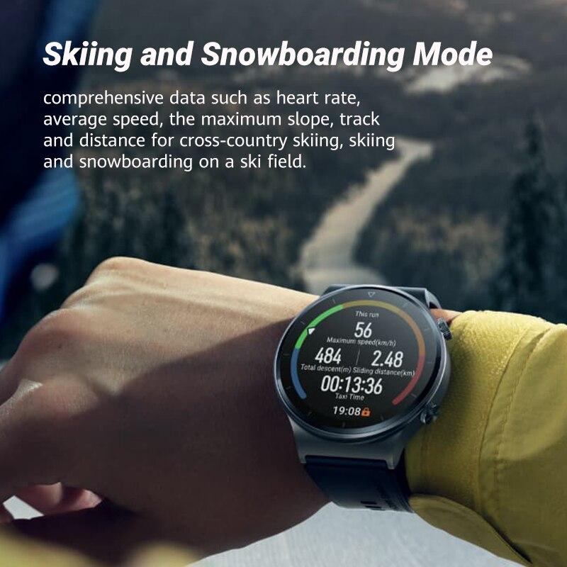 In stock Global Version HUAWEI Watch GT 2 pro SmartWatch 14 days Battery Life GPS Wireless Charging  Kirin A1 GT2 Pro CODE:EOSSA