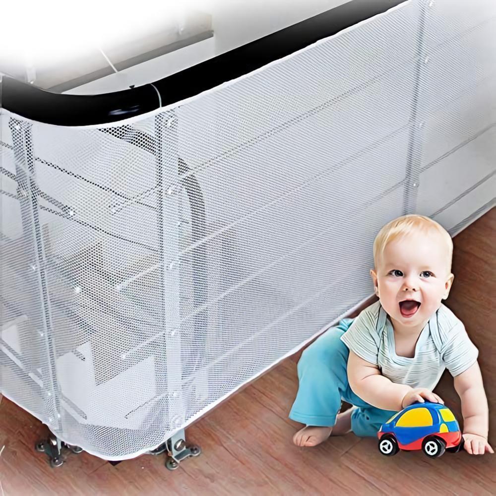 Защитная сетка для детей, утолщенная сетка для забора, для дома, балкона, лестницы, рельсовая защита