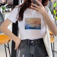 women 2021 oil painting 90s fashion tops tumblr tshirts t clothes shirt womens ladies graphic female tee t shirt