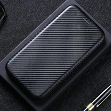 Carbon Fiber Flip Magnetic Leather Book Case For Oneplus 9 Nord N10 N100 8T 8 7T 7 6T 6 5T 5 3T 3 Ca