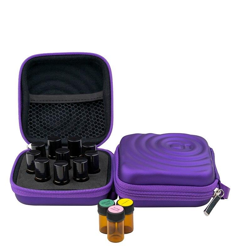 10/12/32 Slots Essential Oil Case for DoTERRA 1-3ML Essential Oils Bottles Storage Bag Ziplock Bottles Holder Hanging органайзер