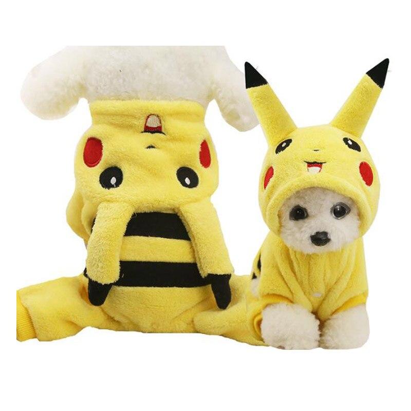 Nuevo bonito disfraz de gato de invierno para perros pequeños, Disfraces de Halloween, ropa de animales abrigada para mascotas, regalos, triangulación de envío