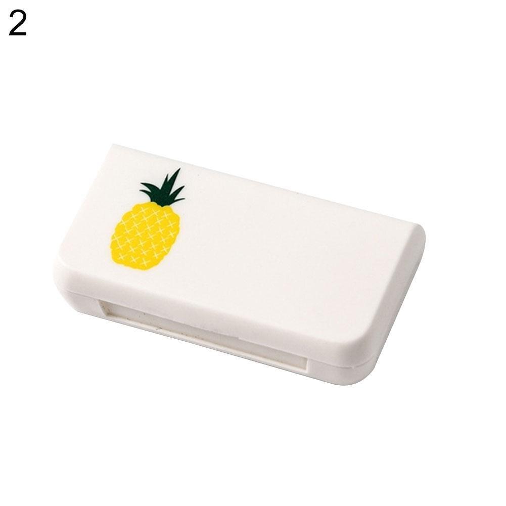 Joylife Mini Portable Travel Plastic Three Grids Vitamin Medicine Pill Case Drug Storage Box Container Dispenser
