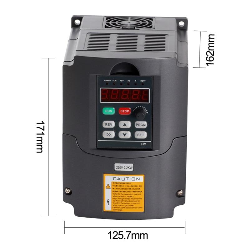 2.2KW general inverter voltage 220V enlarge