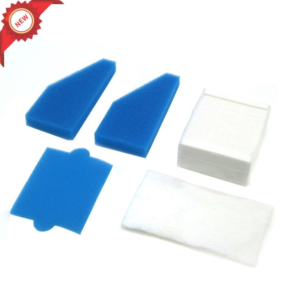 1 ensemble filtre en mousse filtre hepa pour Thomas 787241, 787 241, 99 poussière nettoyage filtre remplacements aspirateur filtre pièces de rechange