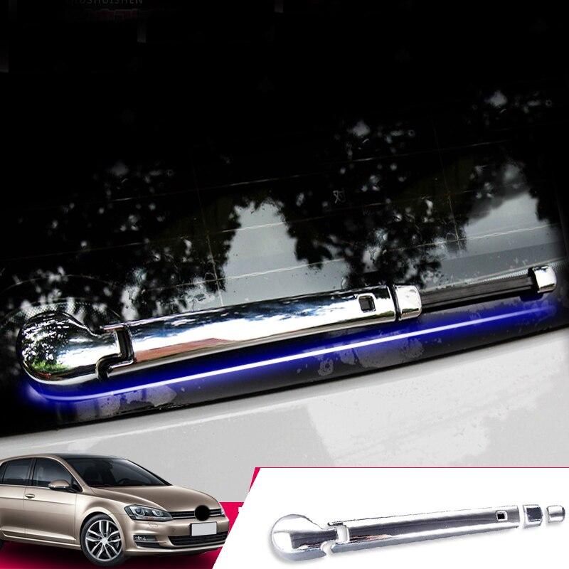 Cubierta de limpiaparabrisas de Luna para Coche, accesorio ABS cromado para VW...