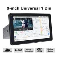 9 ips android 10 car radio stereo autoradio gps multimedia universal head unit cassette hd 1280720 4g reverse view camera obd2