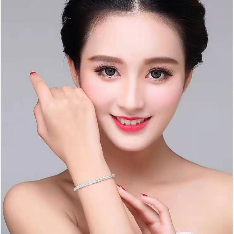925 Sterling Silver  Bracelets for Women Luxury Jewelry Unique Comfort Phoenix Tail Creative Fashion