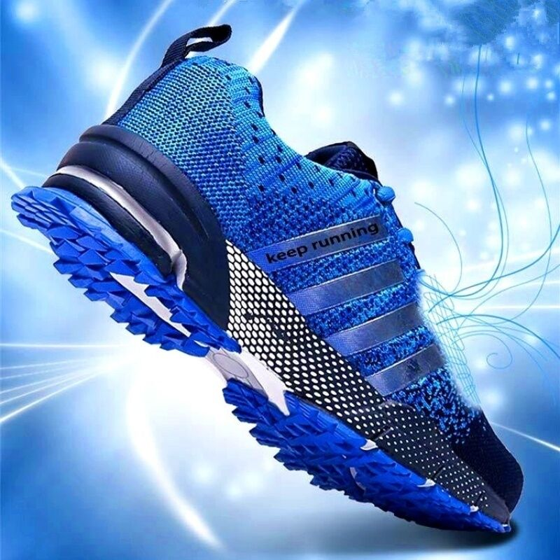 Fashion Men'S Shoes Portable Breathable Running Shoes Sports Shoes Comfortable Walking Jogging Casual Shoes 36-48 Wholesale
