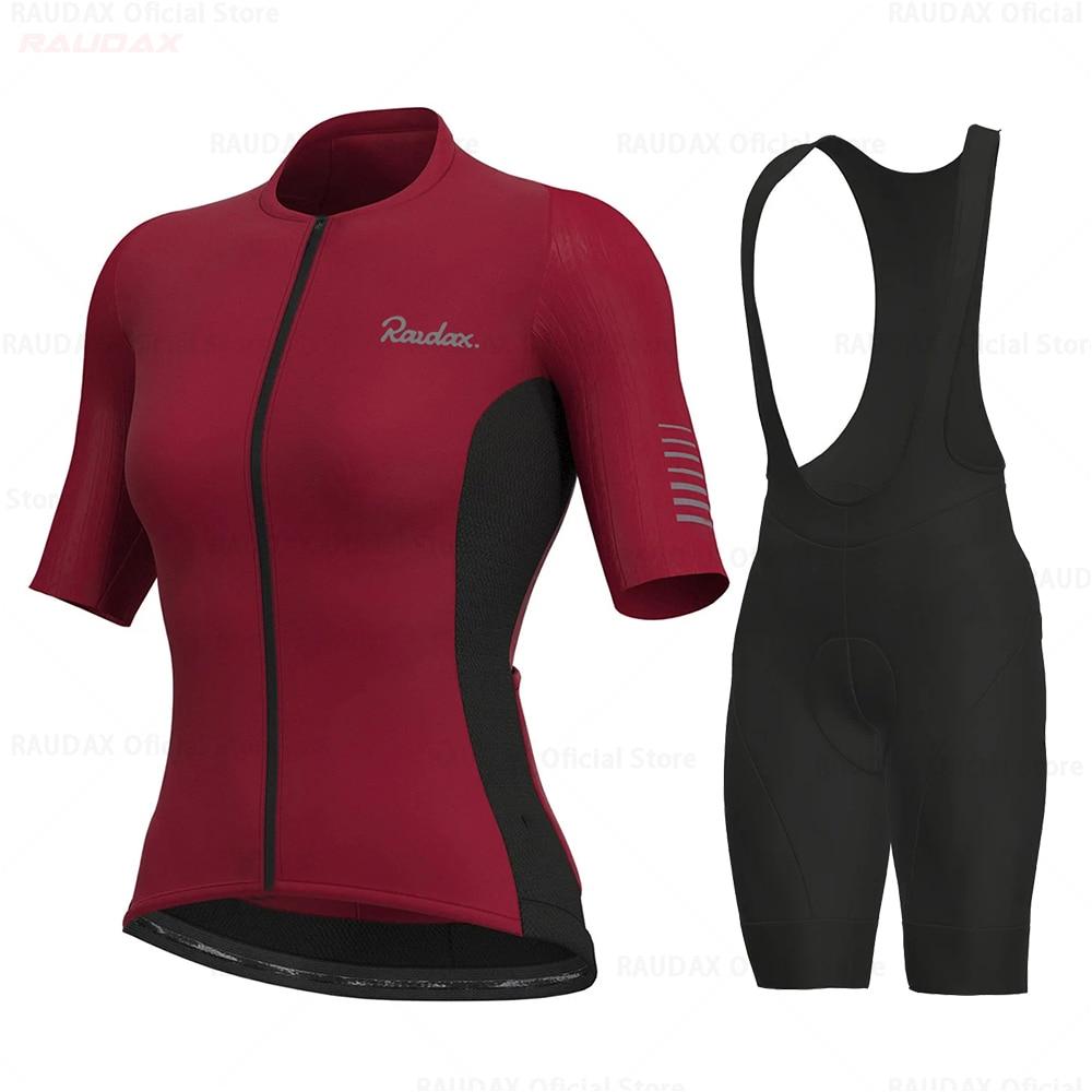 Las mujeres de Ropa de Ciclismo 2021 Raudax Ropa Ciclismo Mujer de...