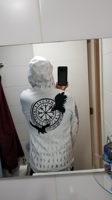 PLstar Cosmos Viking Warrior Tattoo New Fashion Tracksuit casual Colorful 3D Print Zipper/Hoodie/Sweatshirt/Jacket/Men Women s-9