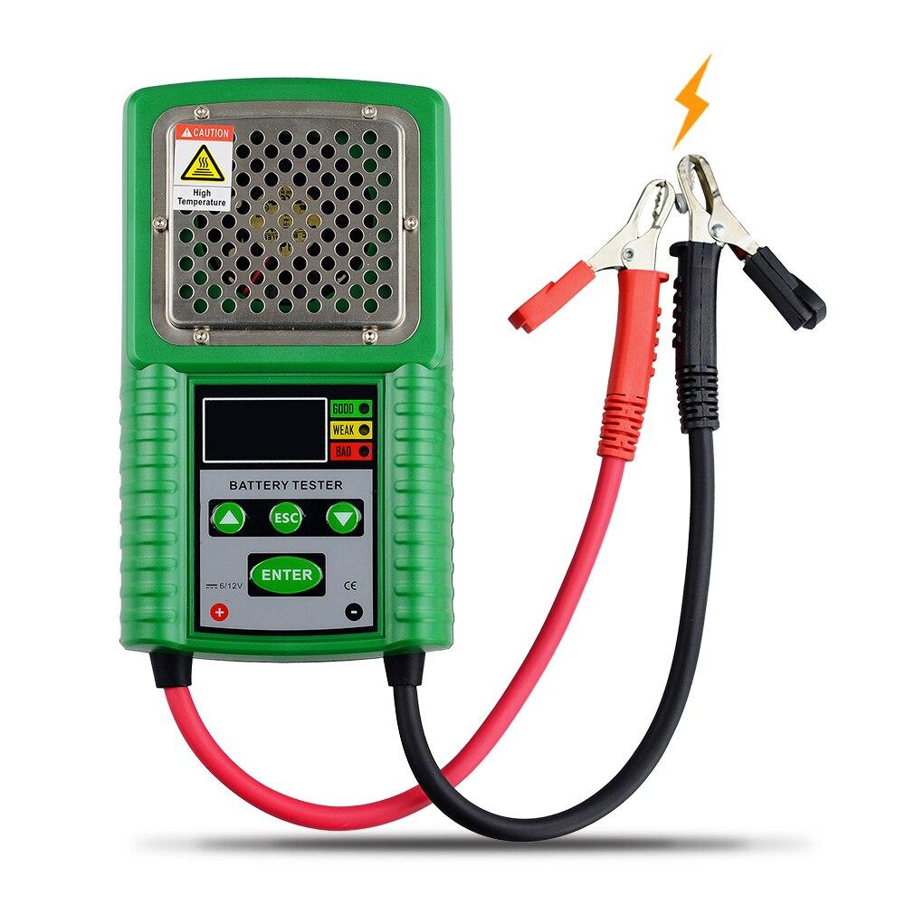 Автомобильный тест аккумулятора, Φ 6V 12V, проверка свинцово-кислотной автомобильной батареи, проверка на напряжение аккумулятора, емкость па...
