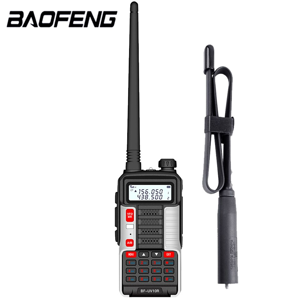 2021 Baofeng Professional Walkie Talkie UV10R 128 Channels VHF UHF Dual Band Two Way CB Ham Radio Baofeng UV5R Enhanced UV 10R