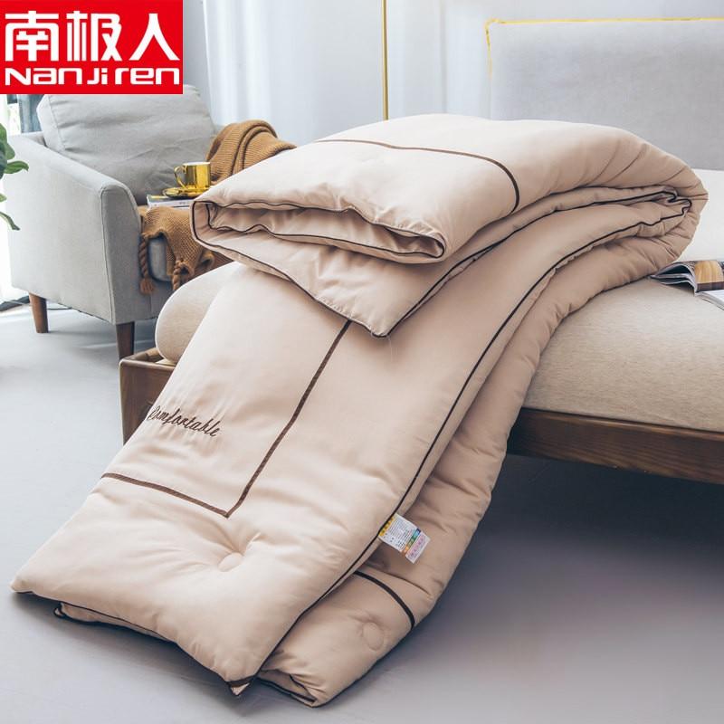 SF High Grade Winter Down Comforter Filler 4kg Weight 2.2*2.4M New Design Comforter Blanket Simple Style Winter Warm Duvet Quilt
